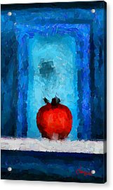 Tomato Tnm Acrylic Print by Vincent DiNovici