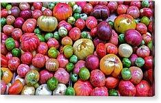Tomatoes Acrylic Print by Bill Owen