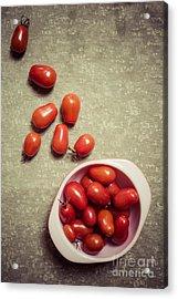 Tomatoes Acrylic Print by Edward Fielding