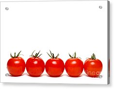 Tomatoes Acrylic Print by Olivier Le Queinec