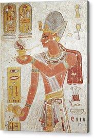 Tomb Of Amon-her-khopechef. Egypt. Dayr Acrylic Print by Everett