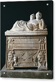 Tomb Of Calisna Sepu. 4th-3rd C. Bc Acrylic Print by Everett