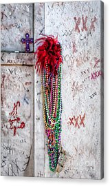 Tomb Of Marie Laveau New Orleans Acrylic Print by Kathleen K Parker