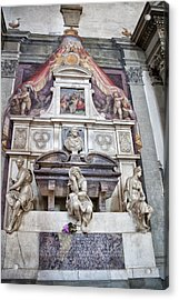 Tomb Of Michelangelo Acrylic Print