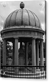 Acrylic Print featuring the photograph Tomb Of President Andrew Jackson And Wife Rachael by Robert Hebert