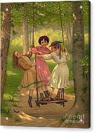 Tomboys 1868 Acrylic Print