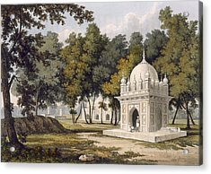 Tombs Near Etaya, From A Picturesque Acrylic Print by Charles Ramus Forrest