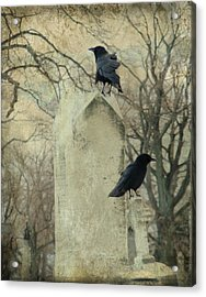 Tombstone Hoppers Acrylic Print by Gothicrow Images