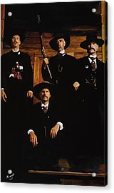 Tombstone -this Is A Painting Not A Photo Acrylic Print