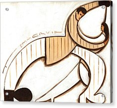 Tommervik Art Deco Dancers Art Print Acrylic Print