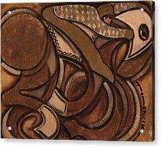 Tommervik Abstract Racehorse Art Print Acrylic Print