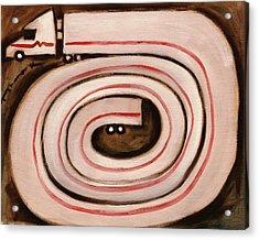 Tommervik Semi Snake Art Print Acrylic Print by Tommervik