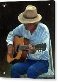 Acrylic Print featuring the painting Tommy by Wayne Daniels