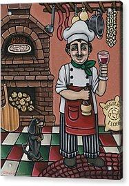 Tommys Italian Kitchen Acrylic Print by Victoria De Almeida