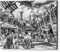 Acrylic Print featuring the photograph Tomorrowland by Howard Salmon