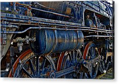 Tonnage Acrylic Print by Skip Willits