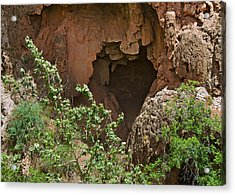 Tonto Natural Bridge State Park Acrylic Print by Christine Till