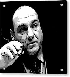 Tony Soprano Acrylic Print