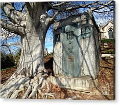 Too Close To Home Acrylic Print by Ed Weidman
