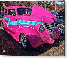 Too Pink Acrylic Print