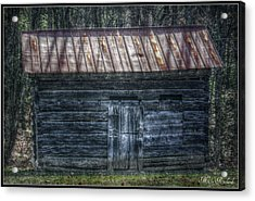 Tool Shed Acrylic Print by Missy Richards