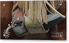 Acrylic Print featuring the photograph Tools Of The Trade by Ann E Robson