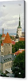 Toompea View, Old Town, Tallinn, Estonia Acrylic Print by Panoramic Images