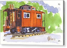 Toot Toot Acrylic Print by Kip DeVore