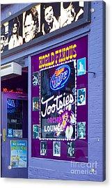 Tootsies Nashville Acrylic Print