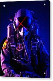 Top Gun Pilot  Acrylic Print