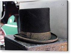 Top Hat Acrylic Print