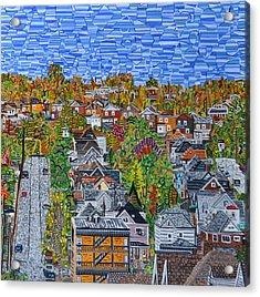 Top Of Hoosac Street Acrylic Print by Micah Mullen