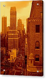 Top Of Manhattan Acrylic Print