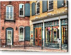 Top Of Railroad Street - Great Barrington Acrylic Print