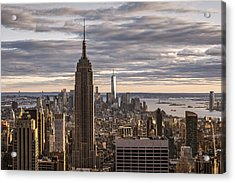 Top Of The Roc Acrylic Print by Anthony Fields