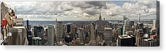 Top Of The Rock View Acrylic Print