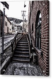 Top Of The Stairs Acrylic Print