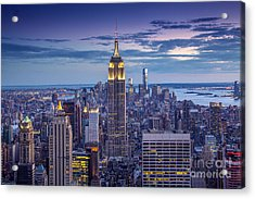 Top Of The World Acrylic Print by Marco Crupi
