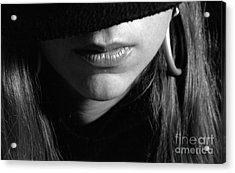 Top Secret Acrylic Print by Andre Paquin