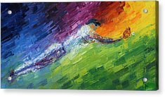 Top Ten Play Of The Day Acrylic Print by Ash Hussein