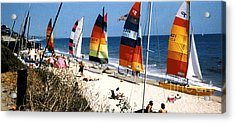 Topanga South Yacht Club Malibu Acrylic Print