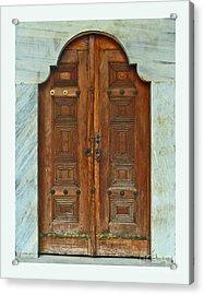 Topkapi Palace Door Istanbul Acrylic Print