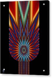Torch Acrylic Print by Jim Pavelle