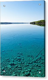 Torch Lake Acrylic Print