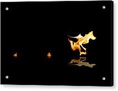 Torch Relay Acrylic Print