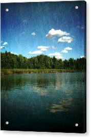 Torch River Reflections Acrylic Print by Michelle Calkins