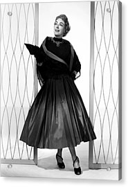 Torch Song, Joan Crawford, In A Gown Acrylic Print by Everett