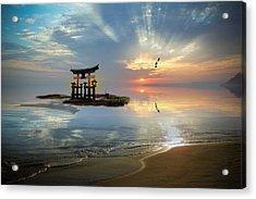 Tori Sunset Acrylic Print
