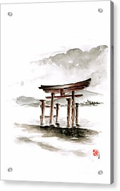 Torii Gate Acrylic Print