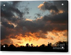 Tormented Sky Acrylic Print